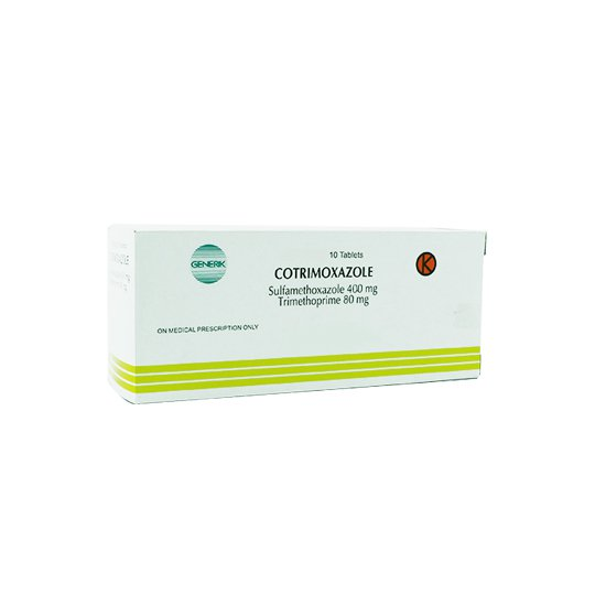 COTRIMOXAZOLE 480 MG 10 TABLET
