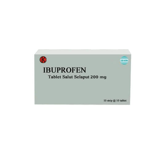 IBUPROFEN 200 MG 10 TABLET