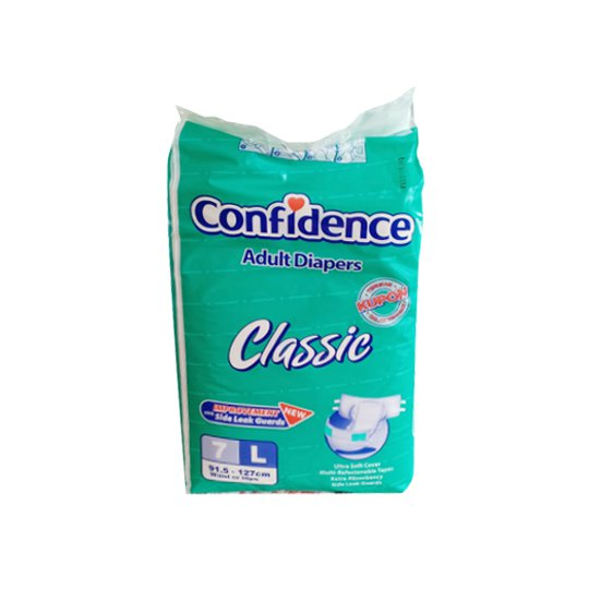 CONFIDENCE ADULT CLASSIC L 7 PIECES