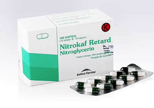 NITROKAF RETARD 2.5 MG 10 KAPSUL