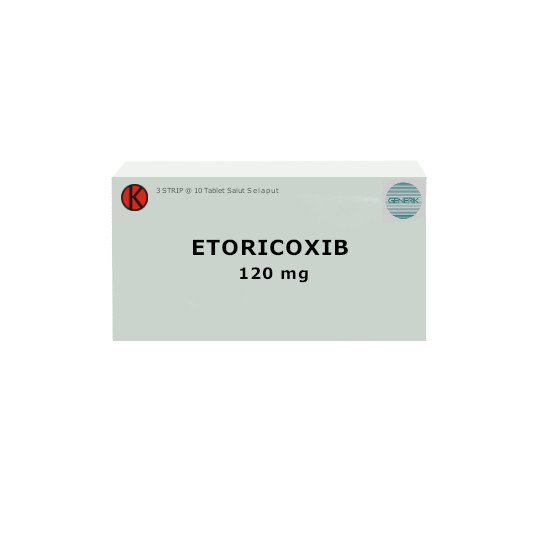 ETORICOXIB 120 MG 10 TABLET