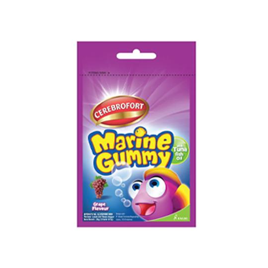 Cerebrofort Marine Gummy Grape Sachet 10 Tablet