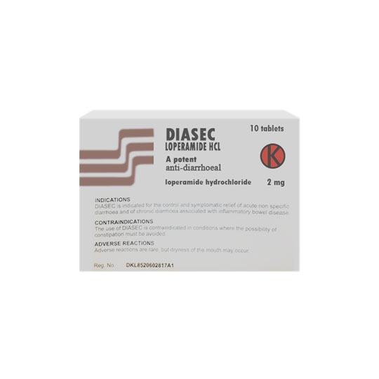 Diasec 2 mg 10 Tablet