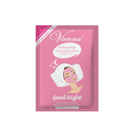 VIENNA RELAXING SLEEPING FACE MASK RELAXING GOOD NIGHT 15 ML