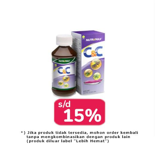 Nutrimax C&C 2 Botol (@100 ml) - Lebih Hemat