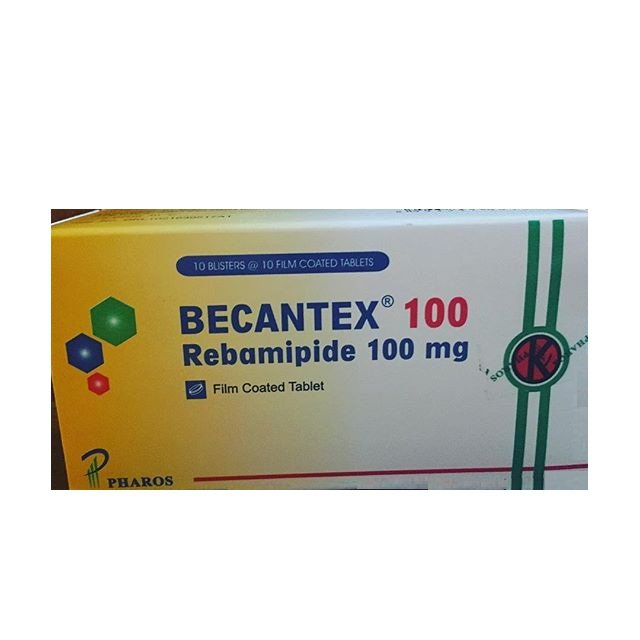 BECANTEX 100 MG 10 TABLET