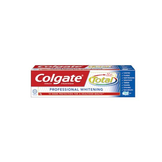 COLGATE TOOTHPASTE TOTAL PRO WHITE 150 G