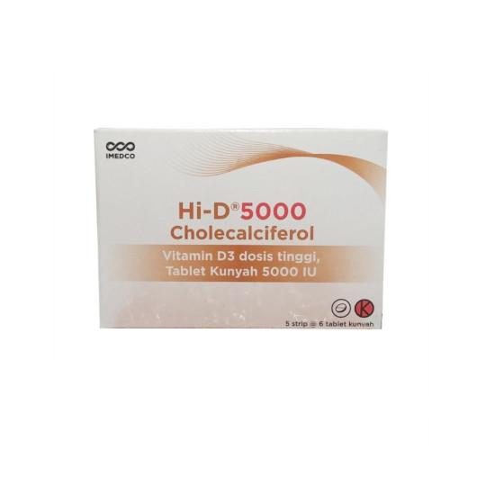 Hi-D 5000 Vitamin D3 6 Tablet