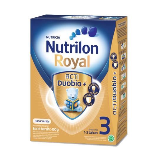 Nutrilon Royal 3 Vanila Susu Pertumbuhan Bubuk 400 gr