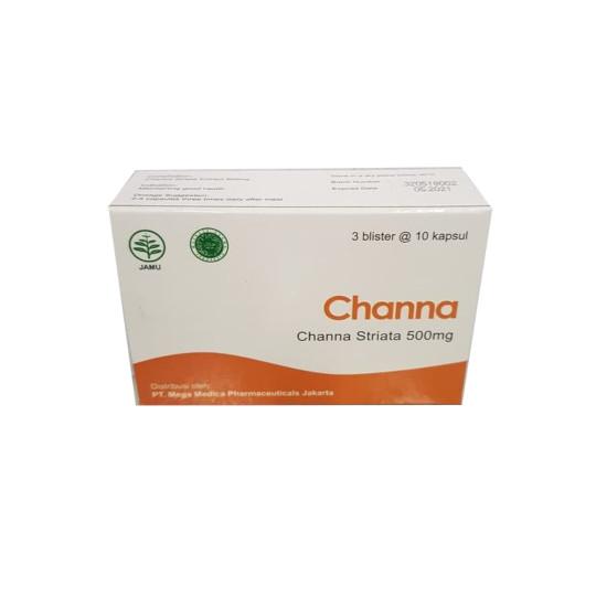 Channa 500 mg 10 Kapsul