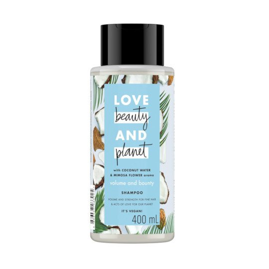 LOVE BEAUTY PLANET VOLUME AND BOUNTY SHAMPOO 400 ML