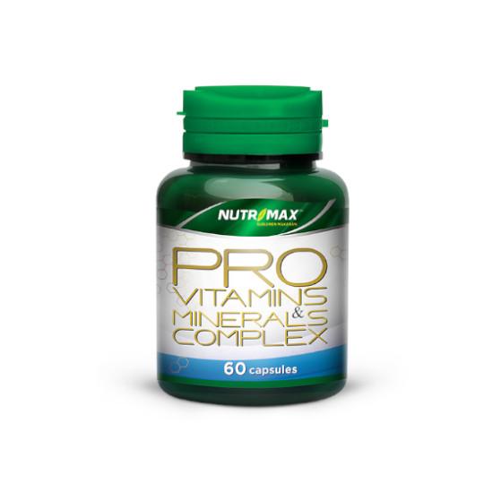 NUTRIMAX PRO VITAMINS & MINERALS COMPLEX 60 KAPSUL