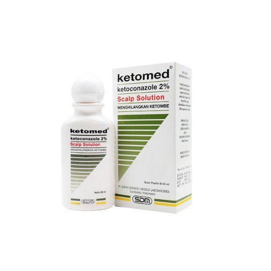 KETOMED 2% SCALP SOLUTION 60 ML