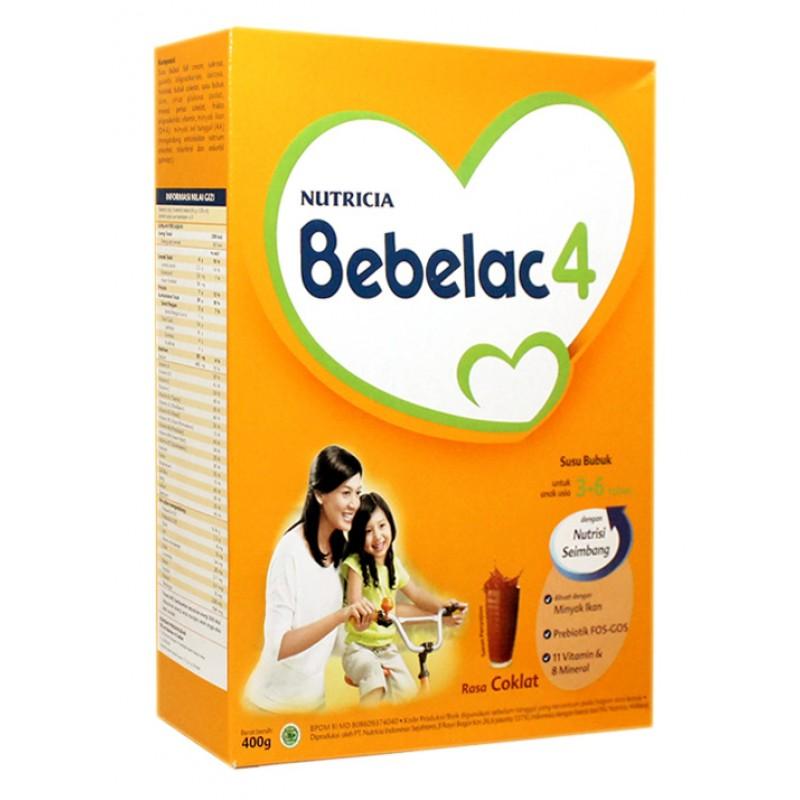 BEBELAC 4 RASA CHOCOLATE 400 G