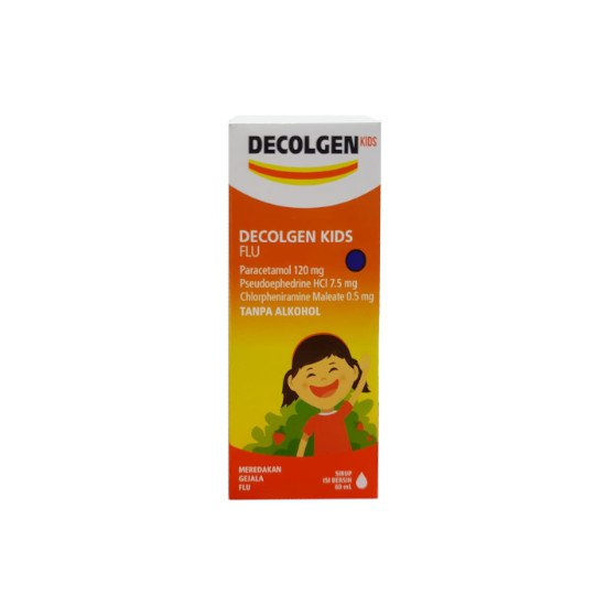 DECOLGEN KIDS FLU SIRUP 60 ML