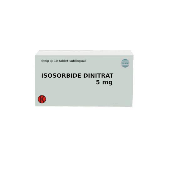 ISOSORBID DINITRAT 5 MG 10 TABLET