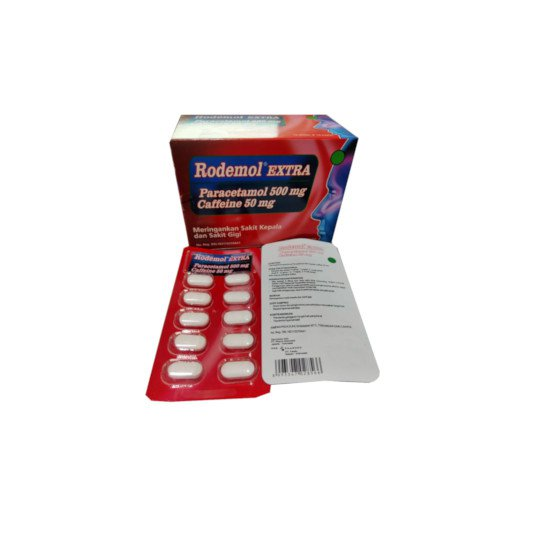 Rodemol 500 mg 10 Kaplet