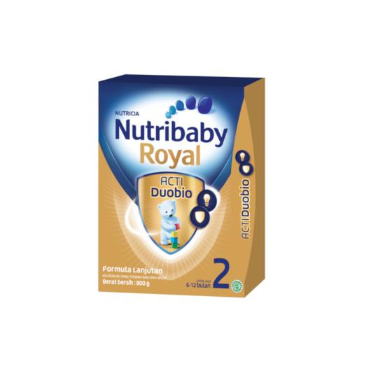 NUTRIBABY ROYAL 2 (6-12 BULAN) FORMULA BAYI 800 G