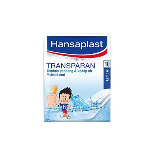 Hansaplast Plester Transparan 10 Lembar
