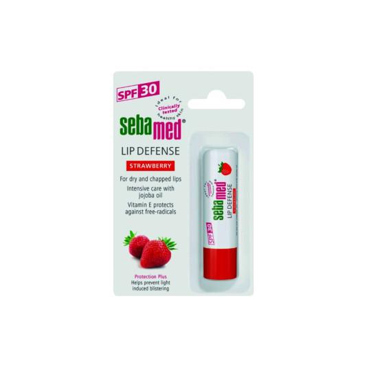Sebamed Lip Defense Strawberry 4.8 G
