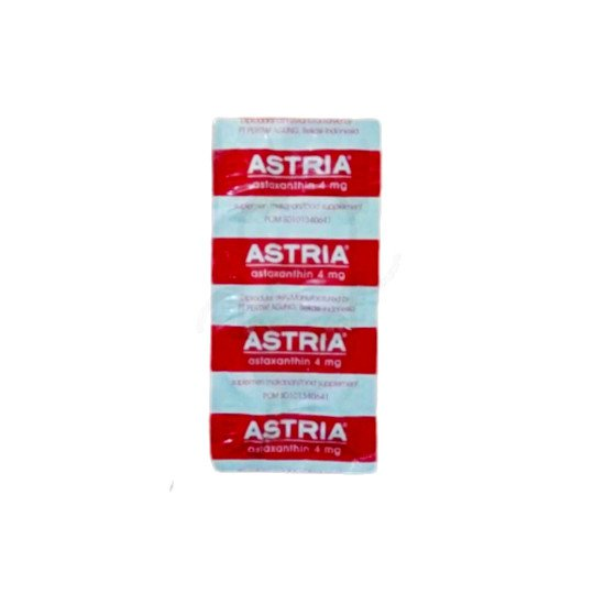 Astria 4 mg 6 Kapsul