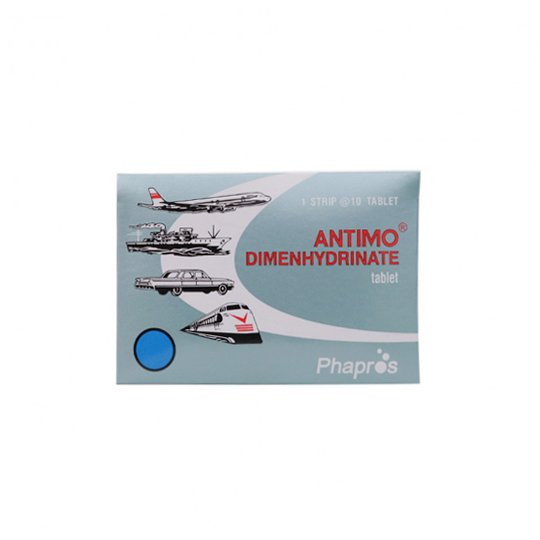 ANTIMO 50 MG 10 TABLET