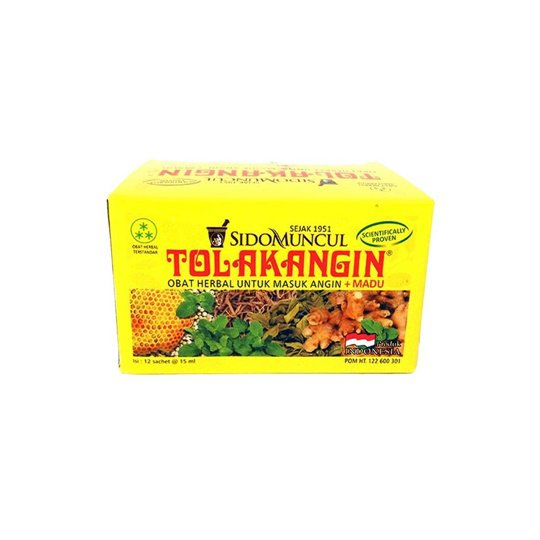 TOLAK ANGIN CAIR PLUS MADU 15 ML 12 SACHET