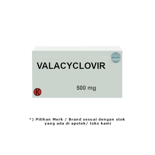 Valacyclovir 500 mg 10 Kaplet