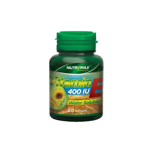 NUTRIMAX VITAMIN E 400 IU WATER SOLUBLE 60 KAPSUL
