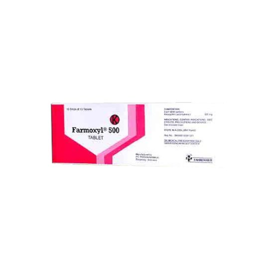 FARMOXYL 500 MG 10 TABLET