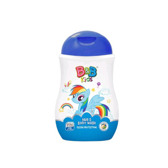 B&B KIDS HAIR & BODY WASH CLEAN PROTECTION 280 ML