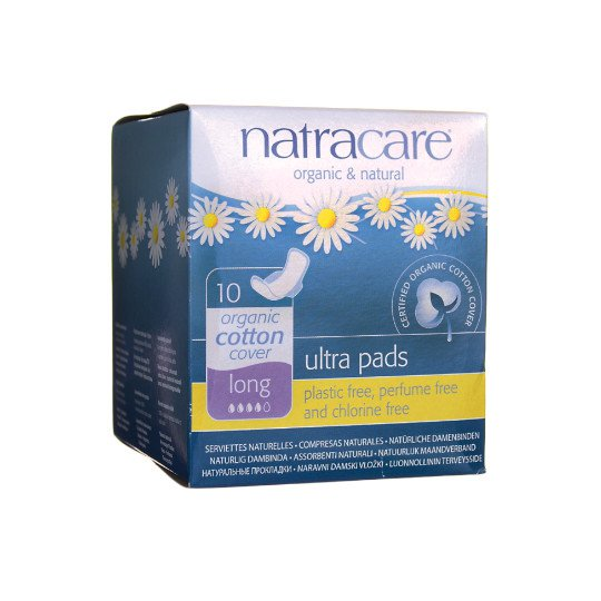 NATRACARE ULTRA LONG 10 PADS