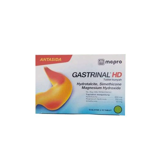 GASTRINAL 250 MG 10 TABLET