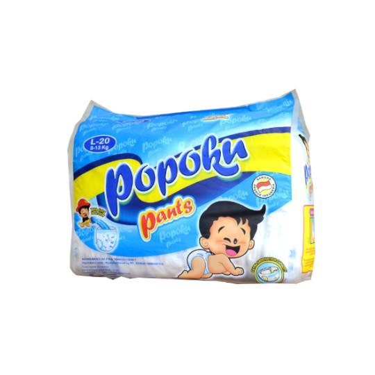 Popoku Pants L 20 Pieces