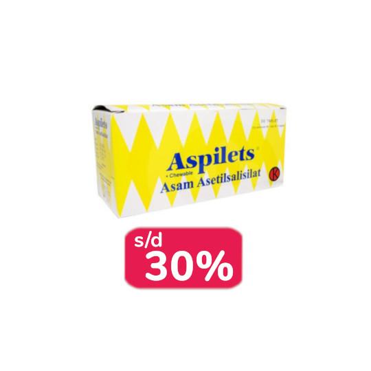 ASPILETS 30 TABLET - OBAT RUTIN