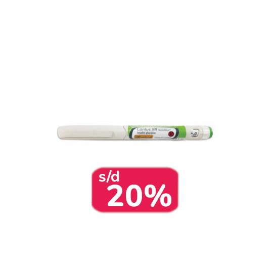 Lantus XR Injeksi 1.5 ml 2 Pen - Obat Rutin