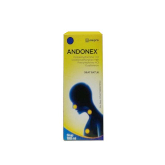 ANDONEX SYRUP 60 ML