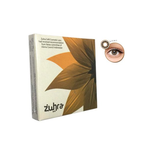 ZUHRA SOFTLENS BROWN