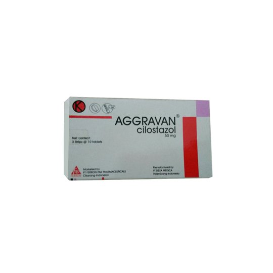 AGGRAVAN 50 MG 10 TABLET