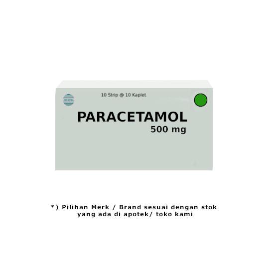 Paracetamol 500 mg 10 Kaplet