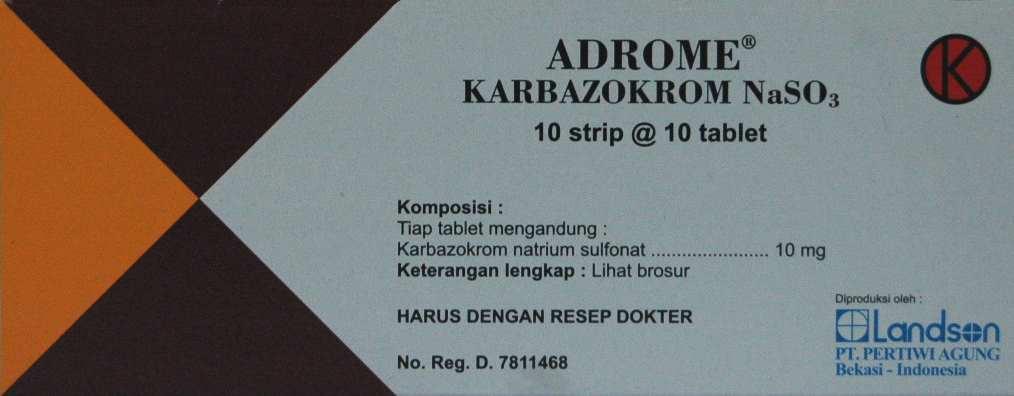 ADROME 10 MG 10 TABLET