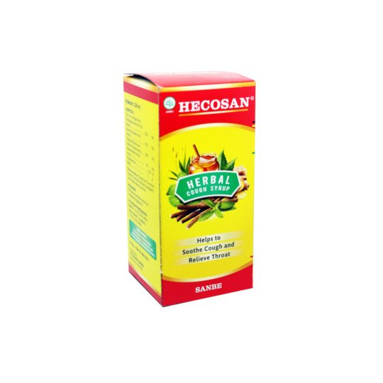 HECOSAN HERBAL COUGH SYRUP 120 ML