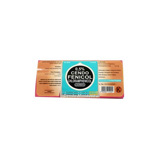 CENDO FENICOL 0.5 % MINIDOSE 0.6 ML 5'S