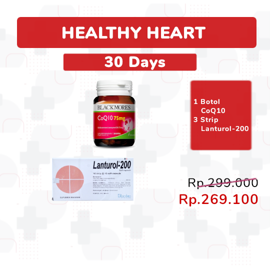 HEALTHY HEART 30-DAYS - PAKET SEHAT