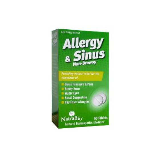 NATRA BIO ALLERGY SINUS 60 TABLET