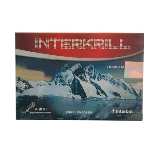 Interkrill 10 Kapsul