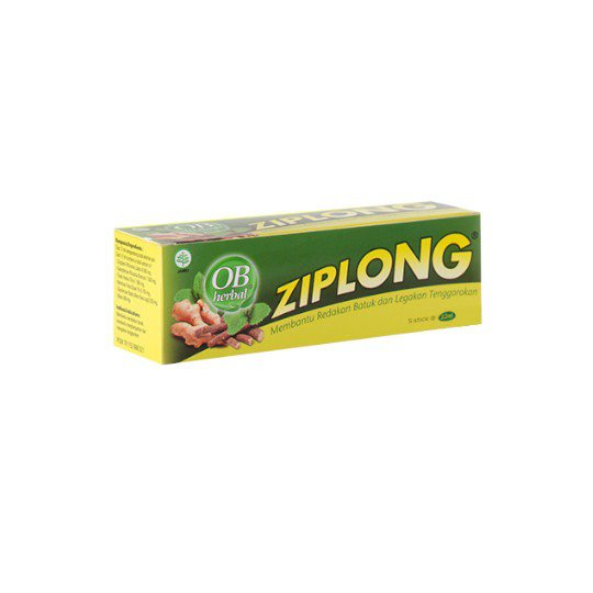 OB HERBAL ZIPLONG CAIR 12 ML 5 SACHET