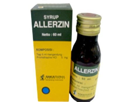 ALLERZIN SIRUP 60 ML
