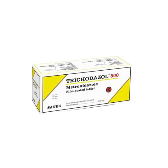 Trichodazol 500 mg 10 Tablet