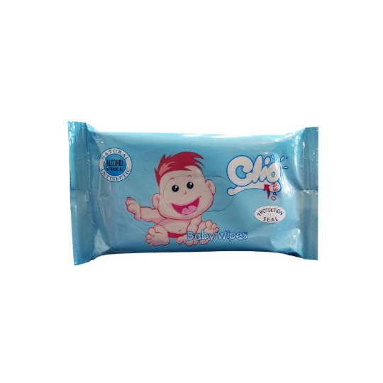 CLIO WET TISSUE BLUE 30 SHEETS